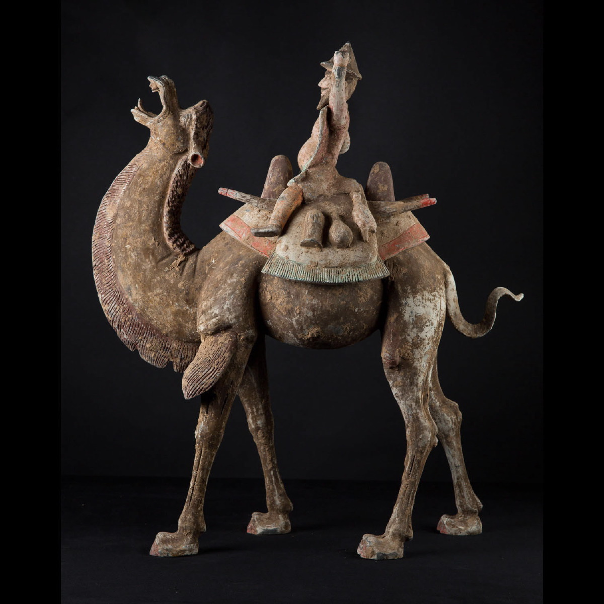 Photo of LARGE SOGDIAN CAMEL WITH RIDER