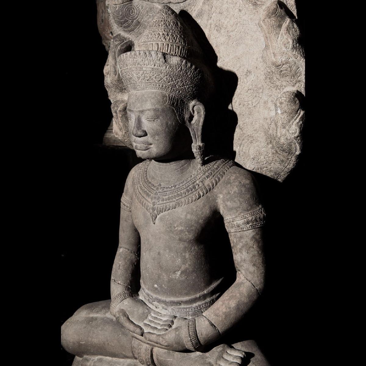Photo of EXCEPTIONNAL BUDDHA MUCILINDA
