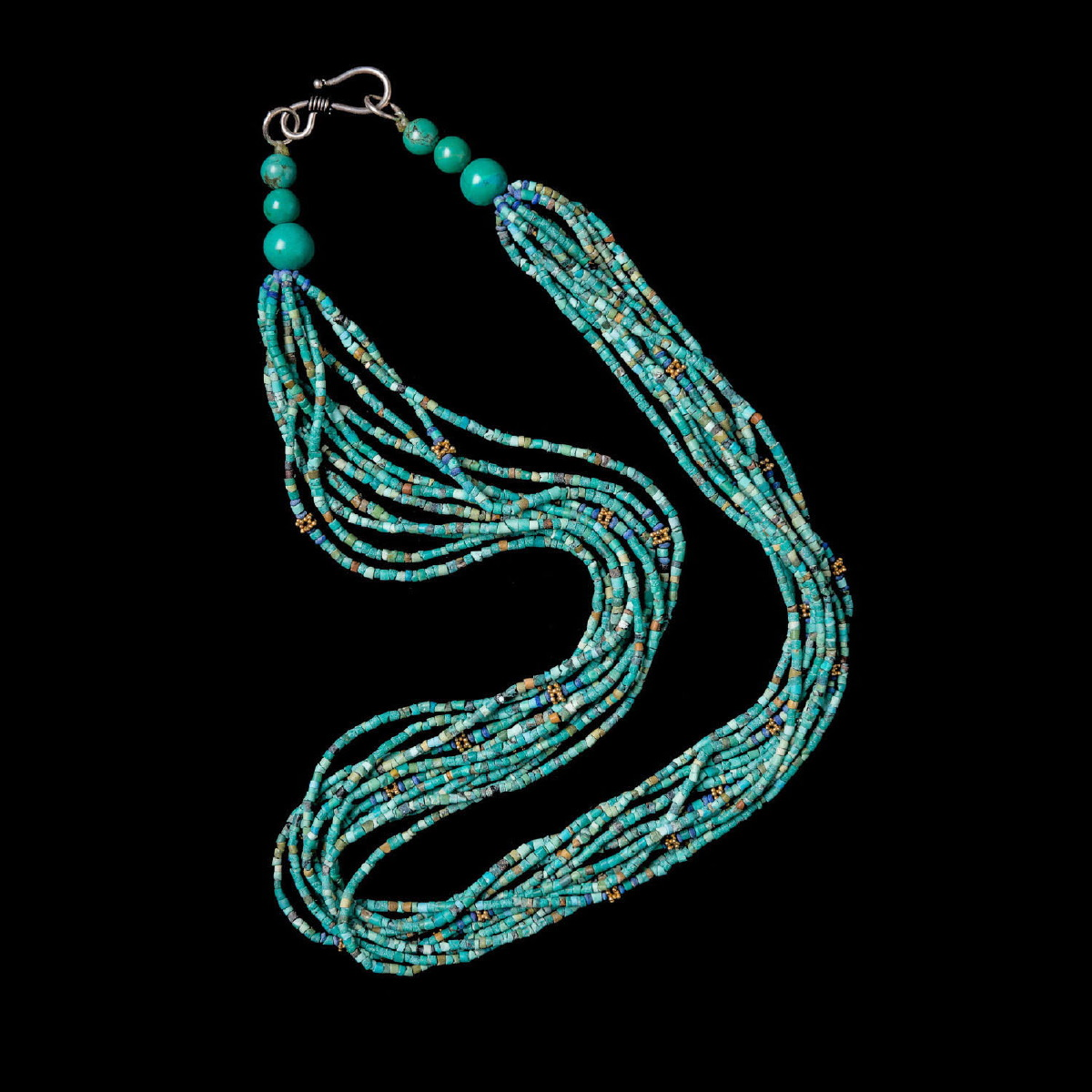 Photo ofNECKLACE OF TURQUOISE BEADS