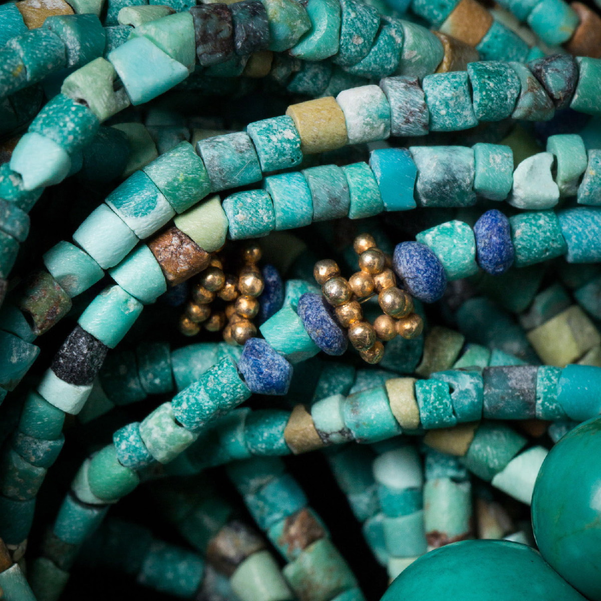 Photo of NECKLACE OF TURQUOISE BEADS