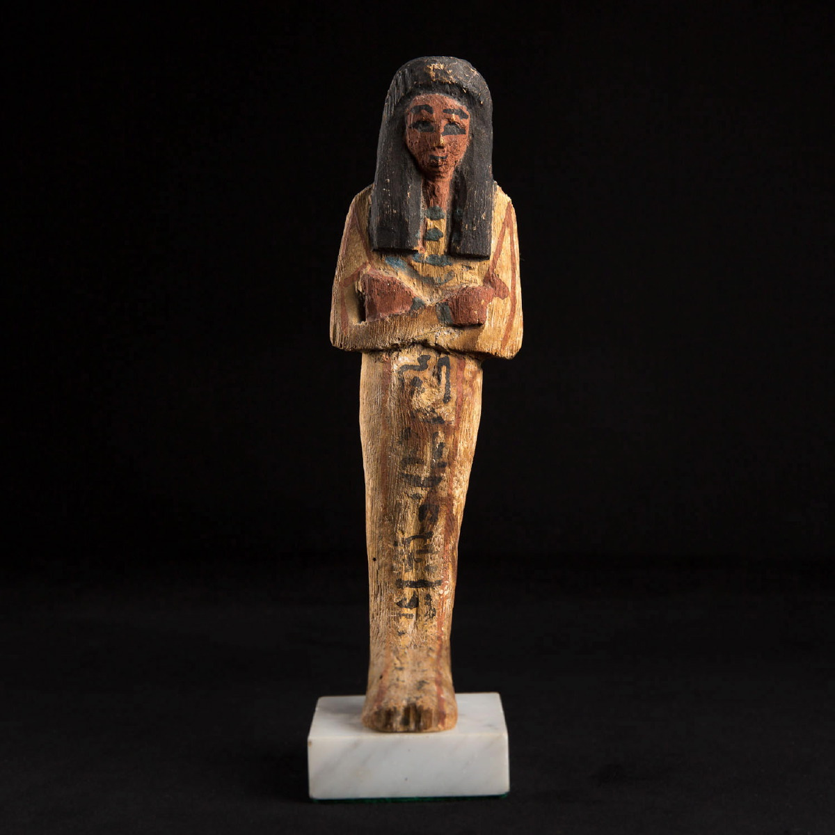 Photo ofWOODEN SHABTI