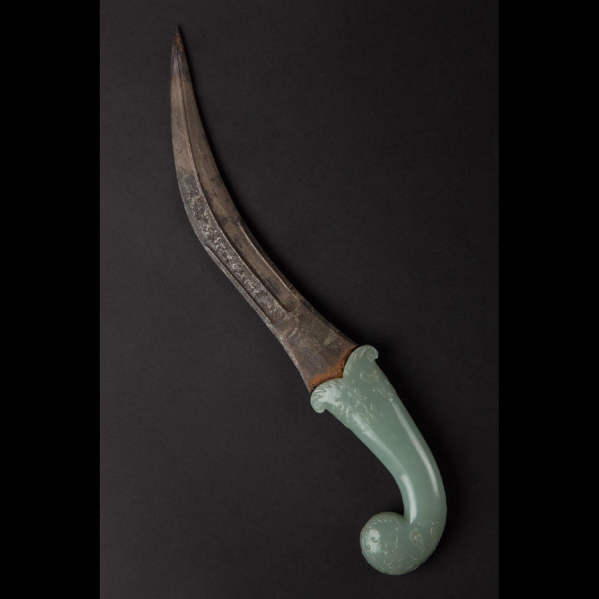 Photo of KHANJAR DAGGER WITH JADE