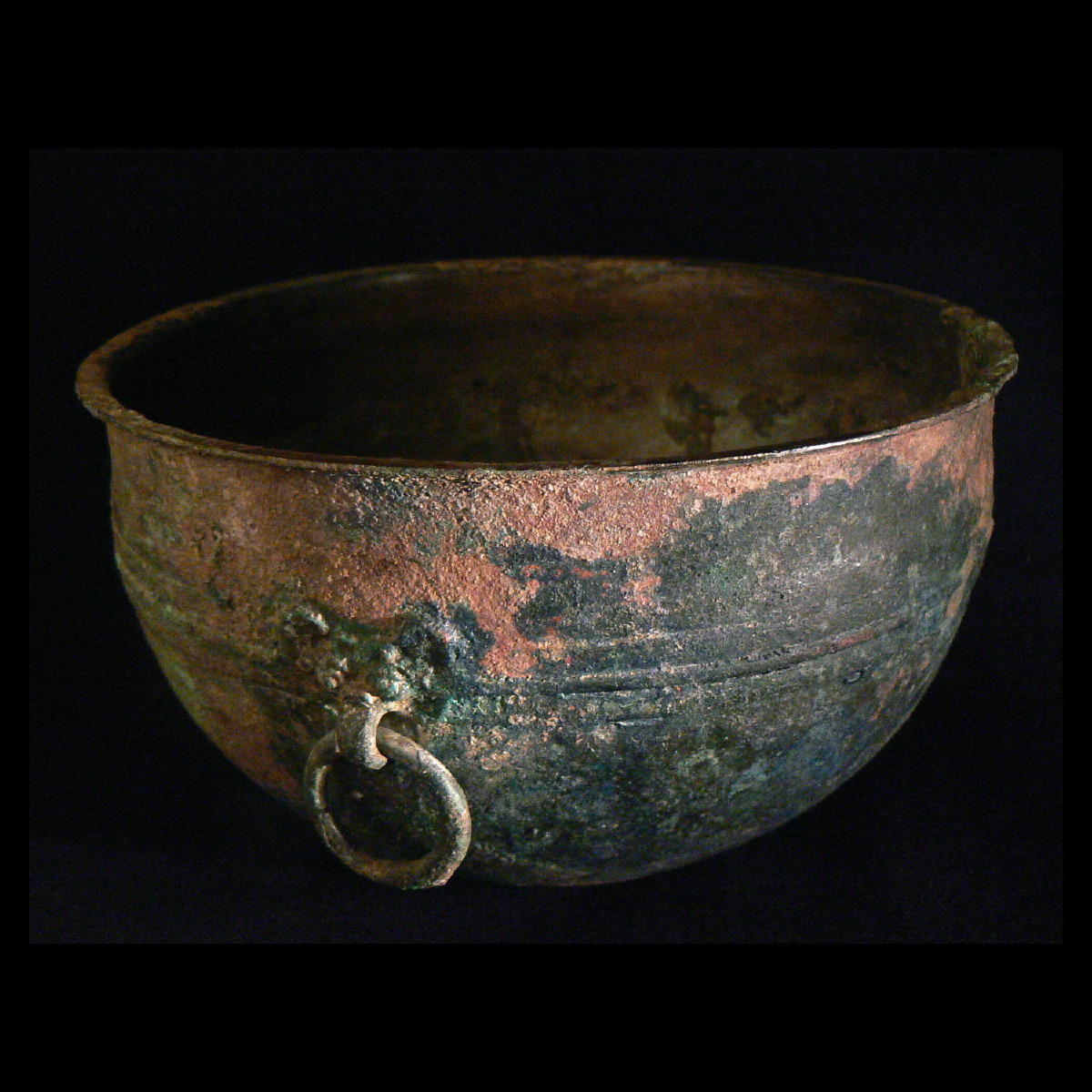 Photo ofBRONZE VESSEL WITH TWO TAOTIE