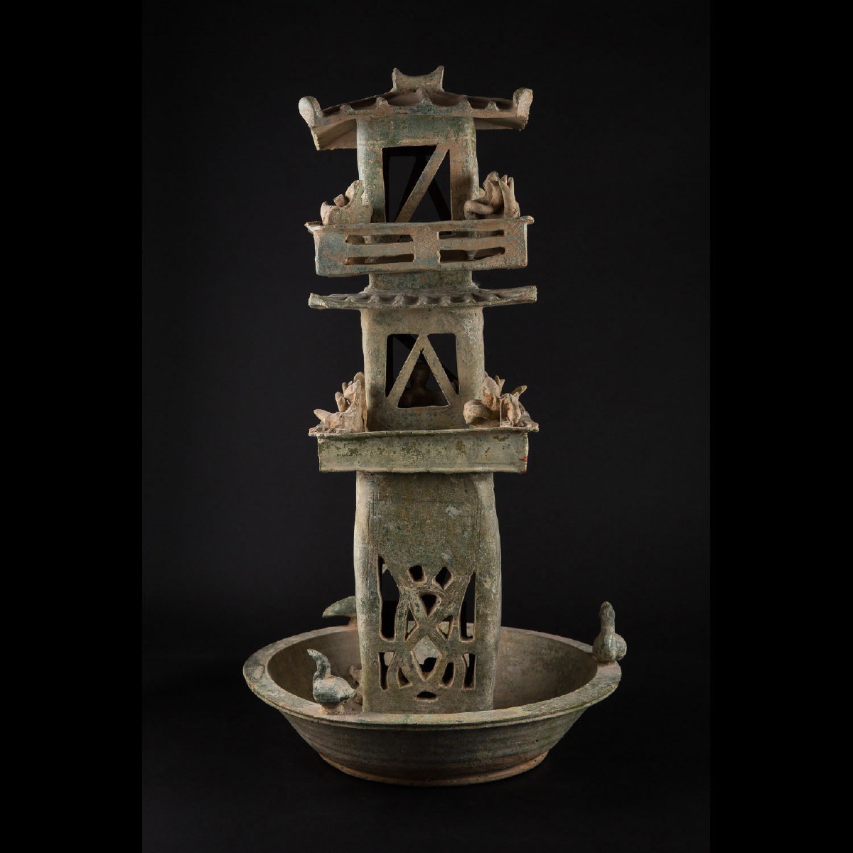 Photo of HAN CERAMIC WATCHTOWER WITH ARCHERS