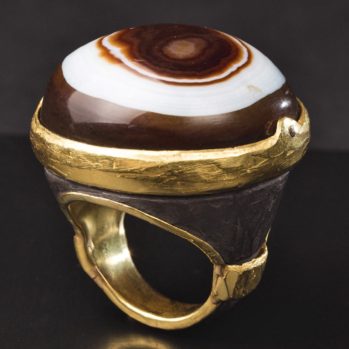 Photo of EYE OF AGATE RING