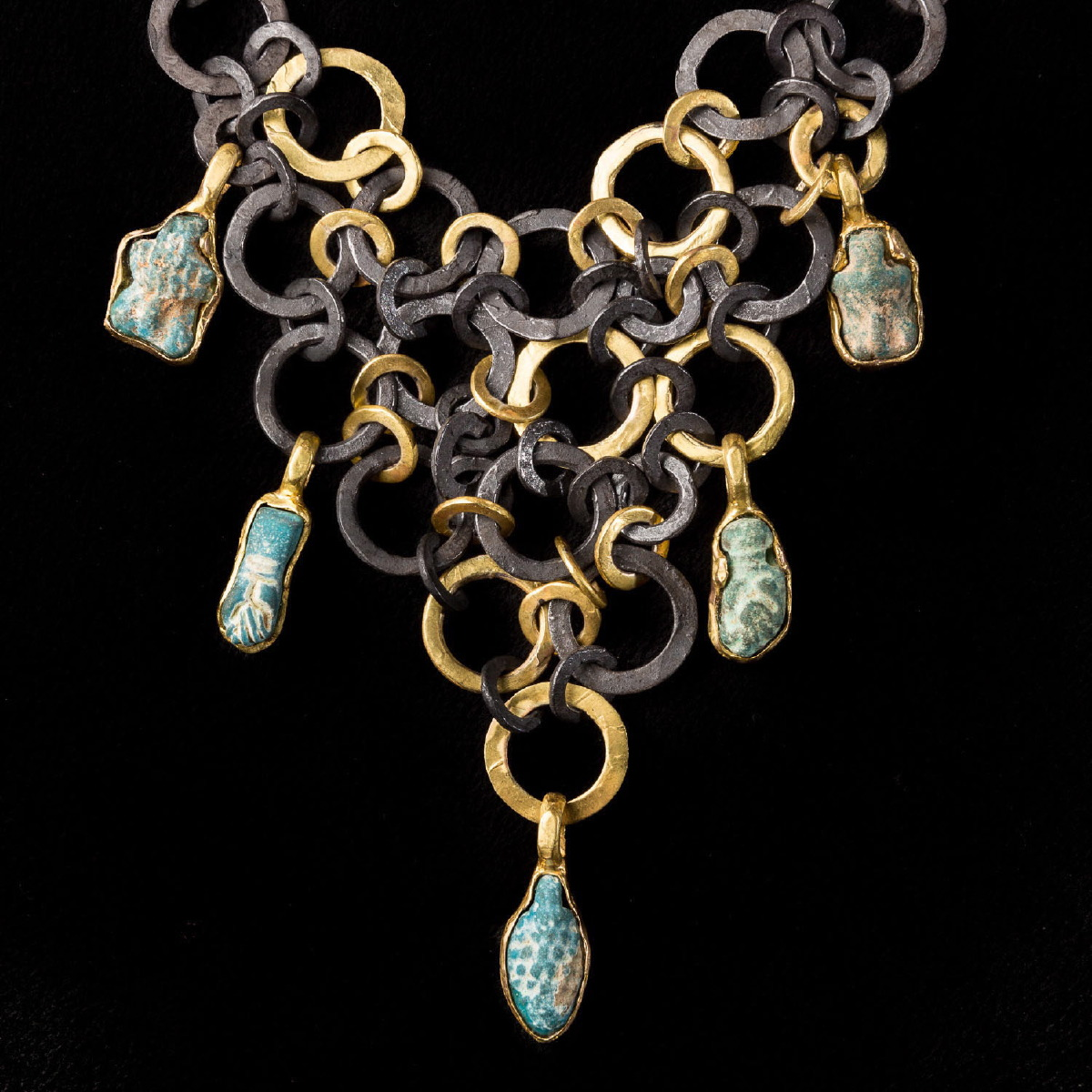 Photo of NECKLACE WITH ANCIENT EGYPTIAN AMULETS