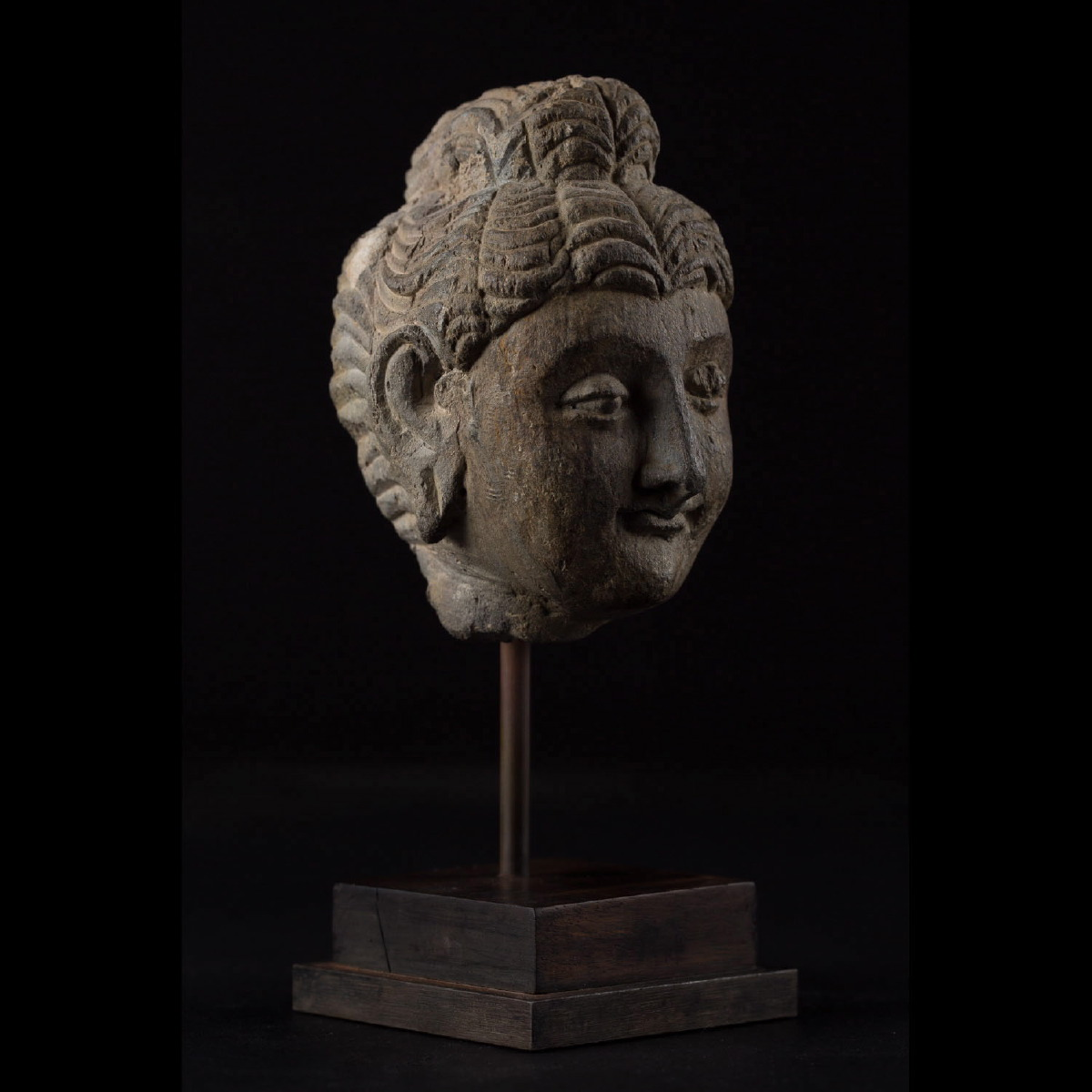 Photo of HEAD OF BUDDHA FROM GANDHARA
