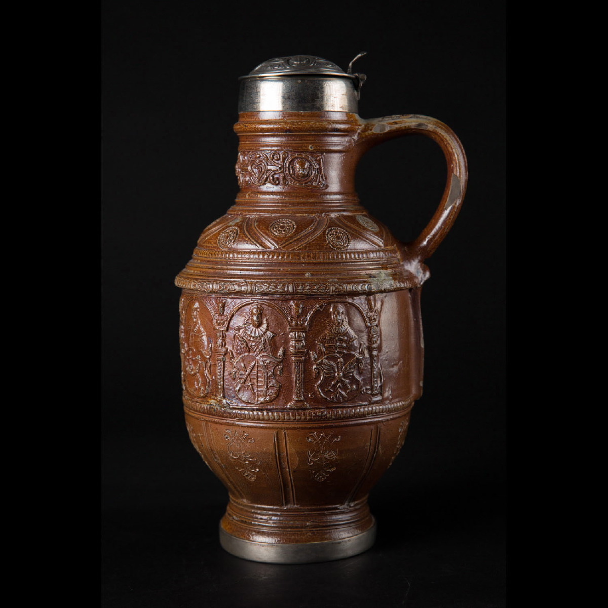 Photo ofRAEREN PITCHER DATED 1602