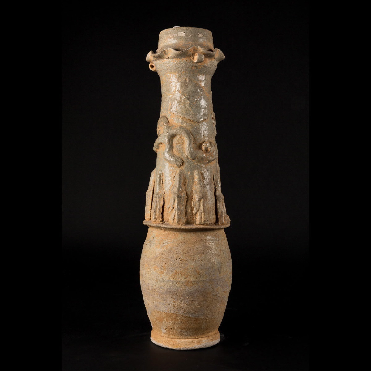 Photo of CELADON STONEWARE TOMB JAR