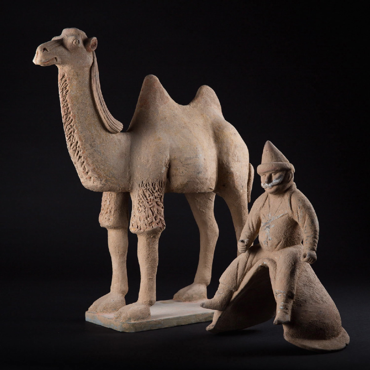 Photo ofTANG BACTRIAN CAMEL AND SOGDIAN DRIVER