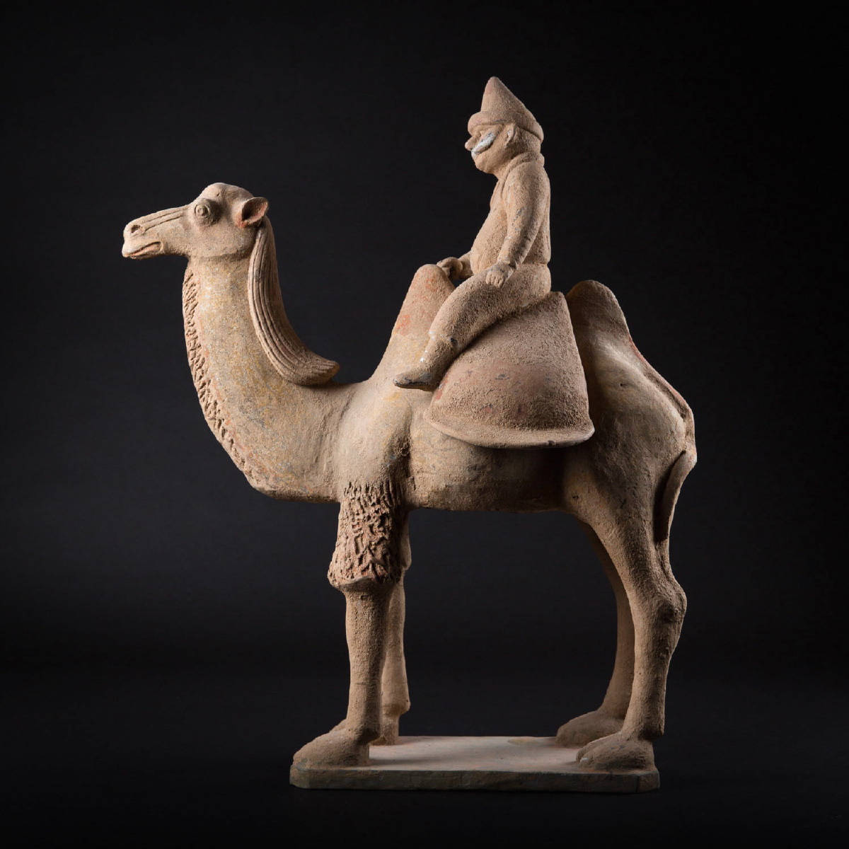 Photo of TANG BACTRIAN CAMEL AND SOGDIAN DRIVER