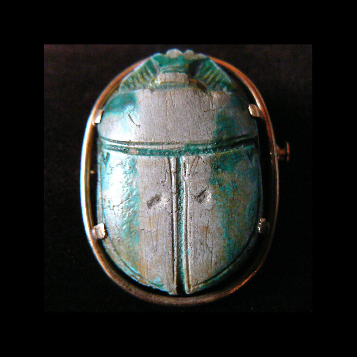 Photo ofRARE LARGE EGYPTIAN SCARAB