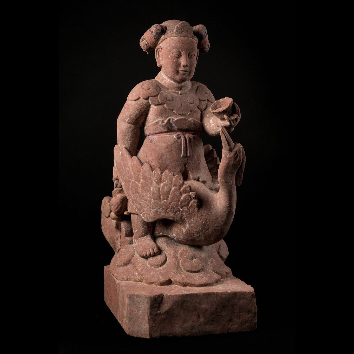 Photo ofTHE CHINESE  GODDESS OF ELOQUENCE-LIAO ERA