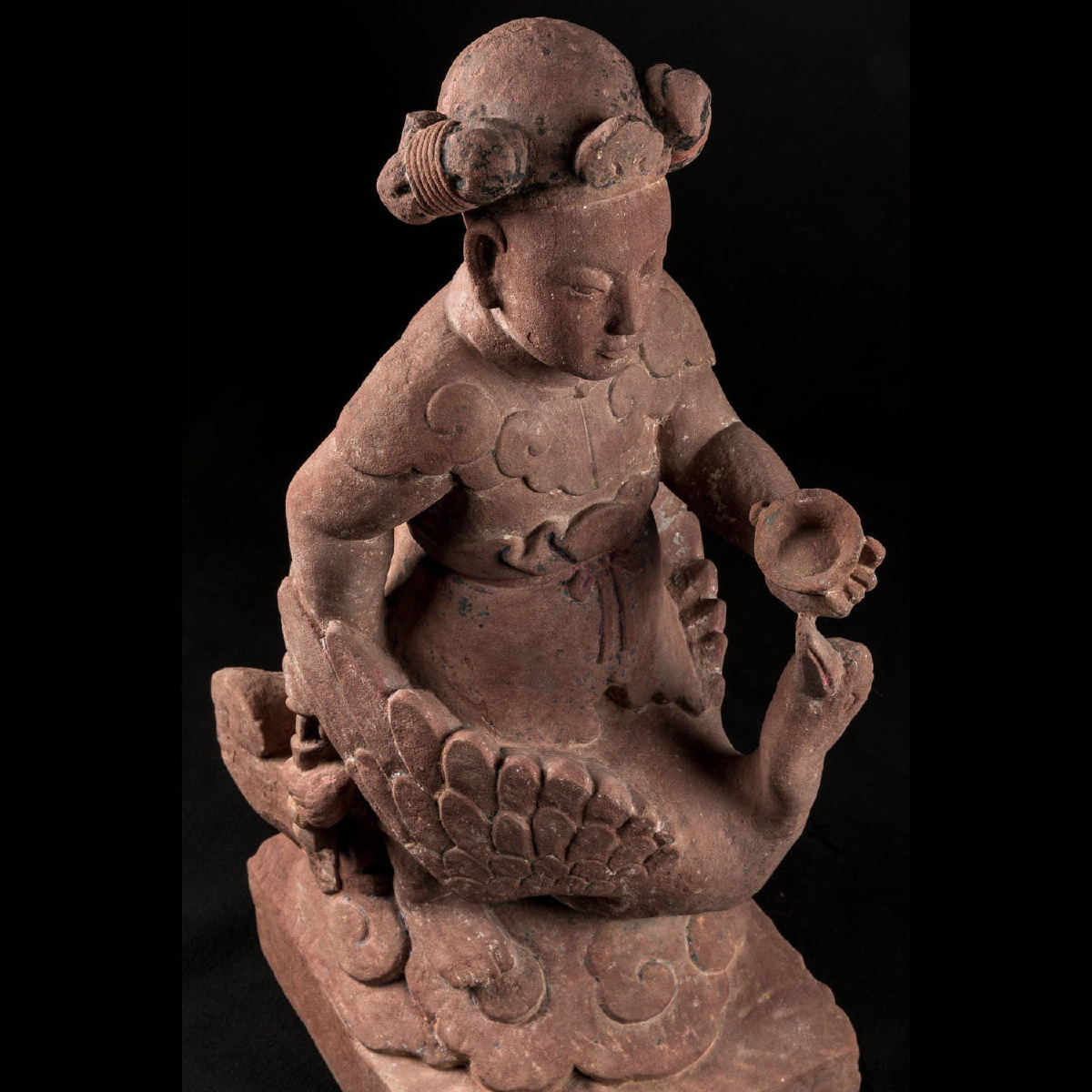 Photo of THE CHINESE  GODDESS OF ELOQUENCE-LIAO ERA
