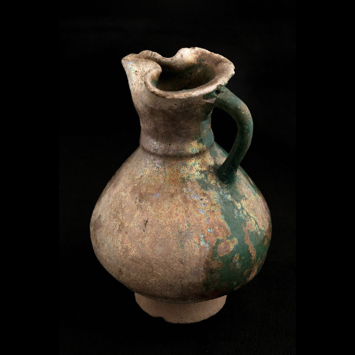 Photo of SMALL GLAZED VASE FROM GURGAN
