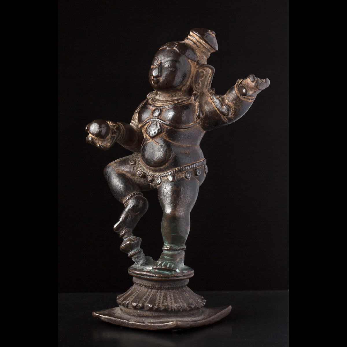 Photo of INFANT KRISHNA DANCING AS THE BUTTER THIEF