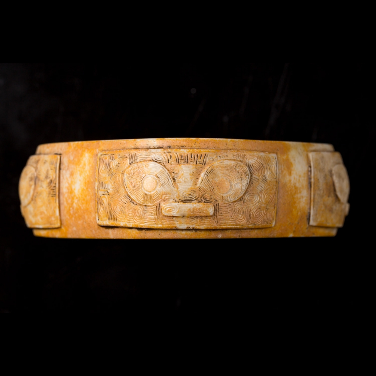 Photo of TZONG BRACELET WITH MASKS IN JADE