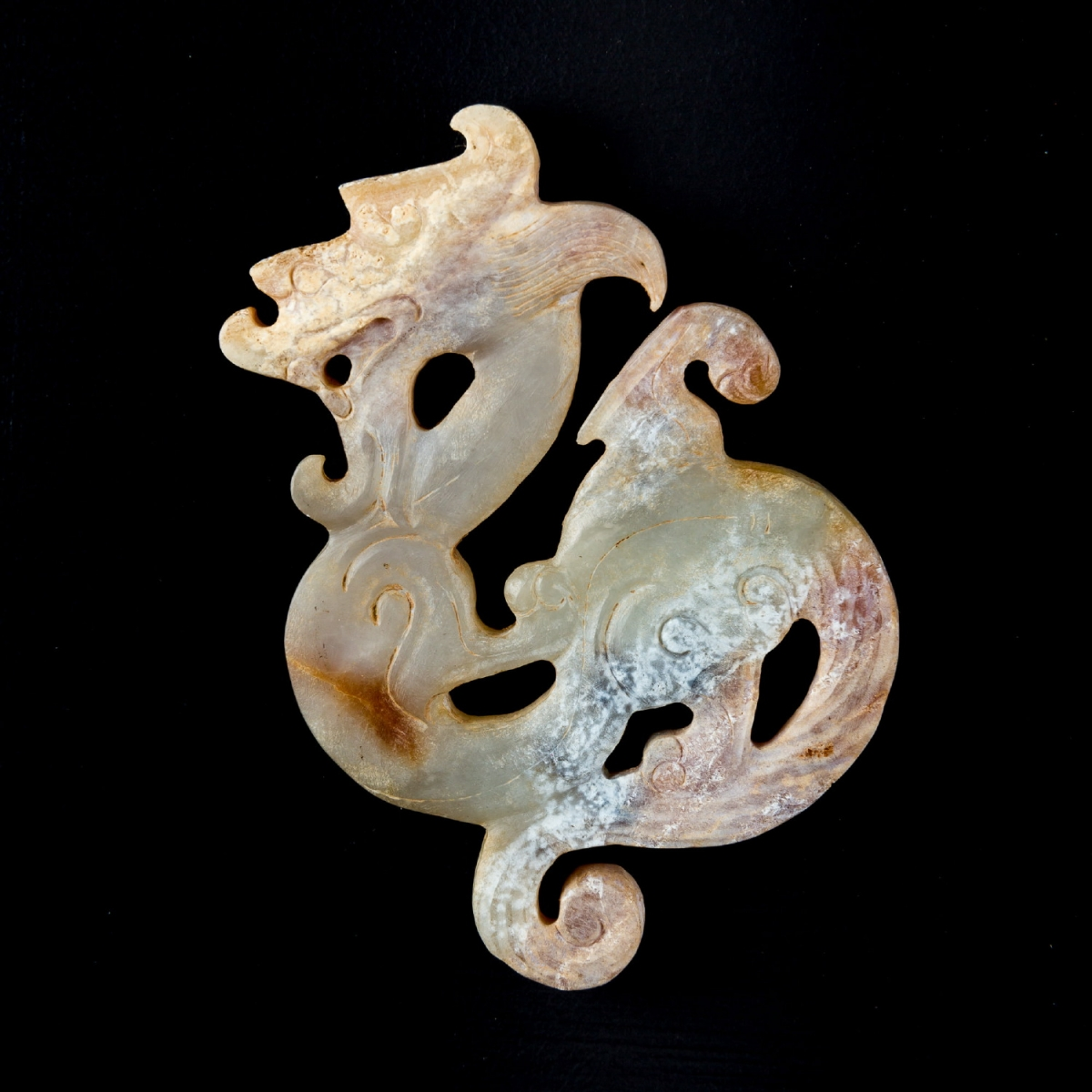 Photo of SMALL COILED DRAGON JADE