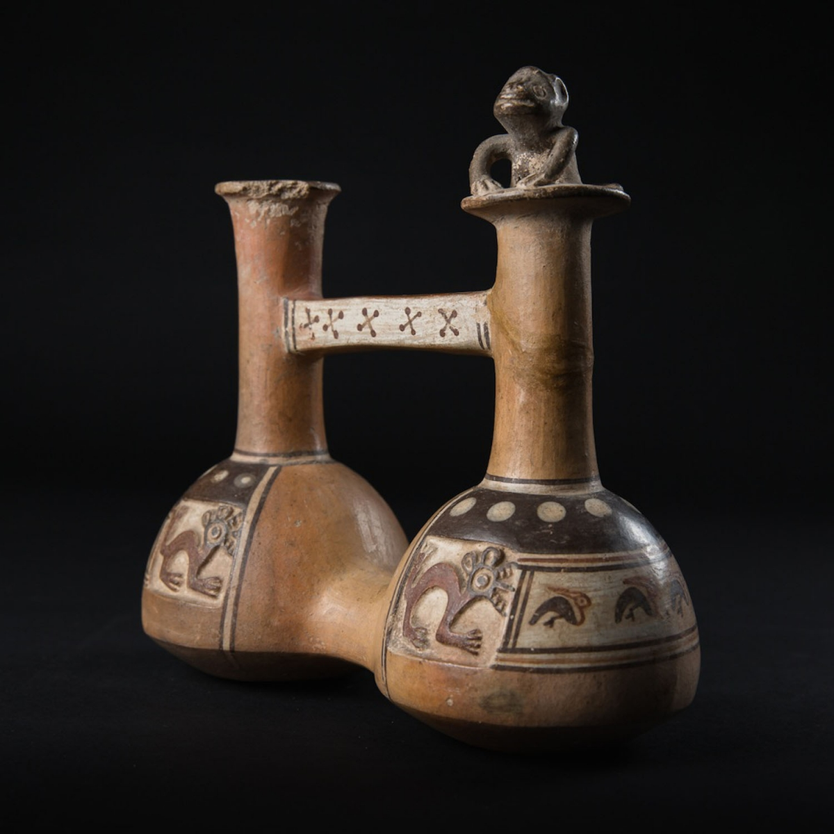 Photo of INCA VASE WITH MONKEY
