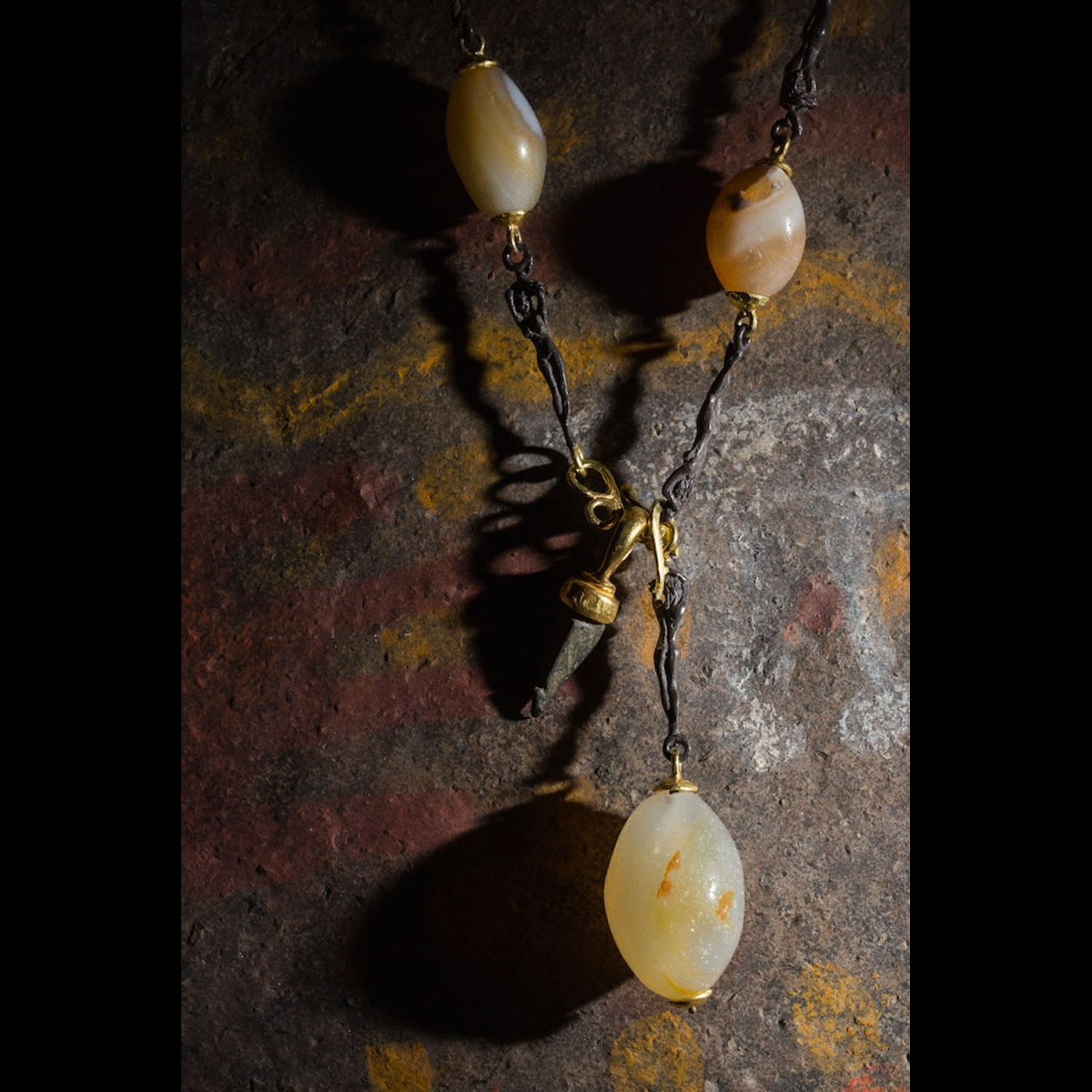 Photo of MESOPOTAMIAN CORNELIAN NECKLACE