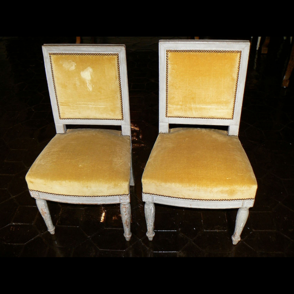 Photo ofPAIR OF FIRST EMPIRE CHAIRS - 1804/1814