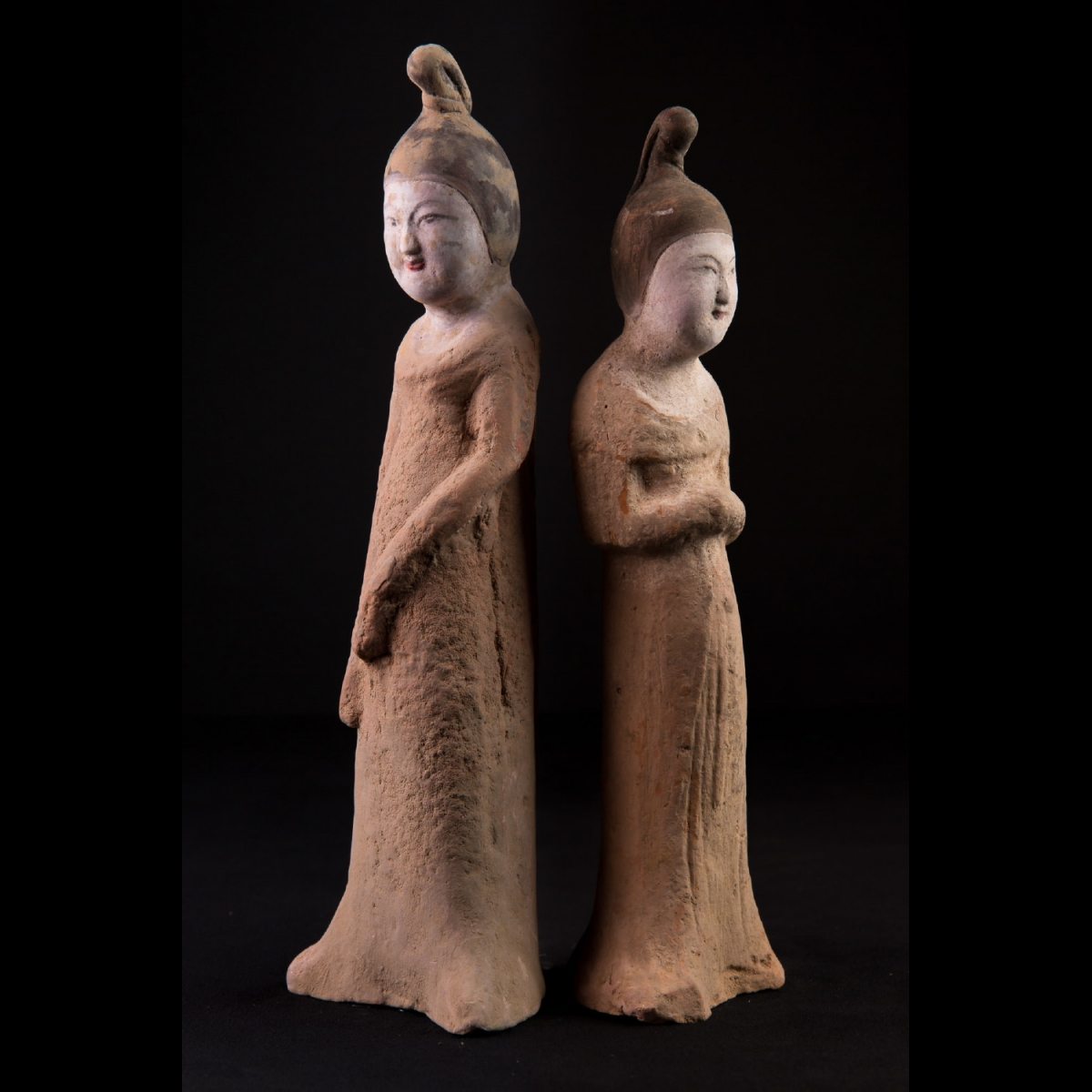 Photo of PAIR OF TANG LADIES IN WAITING