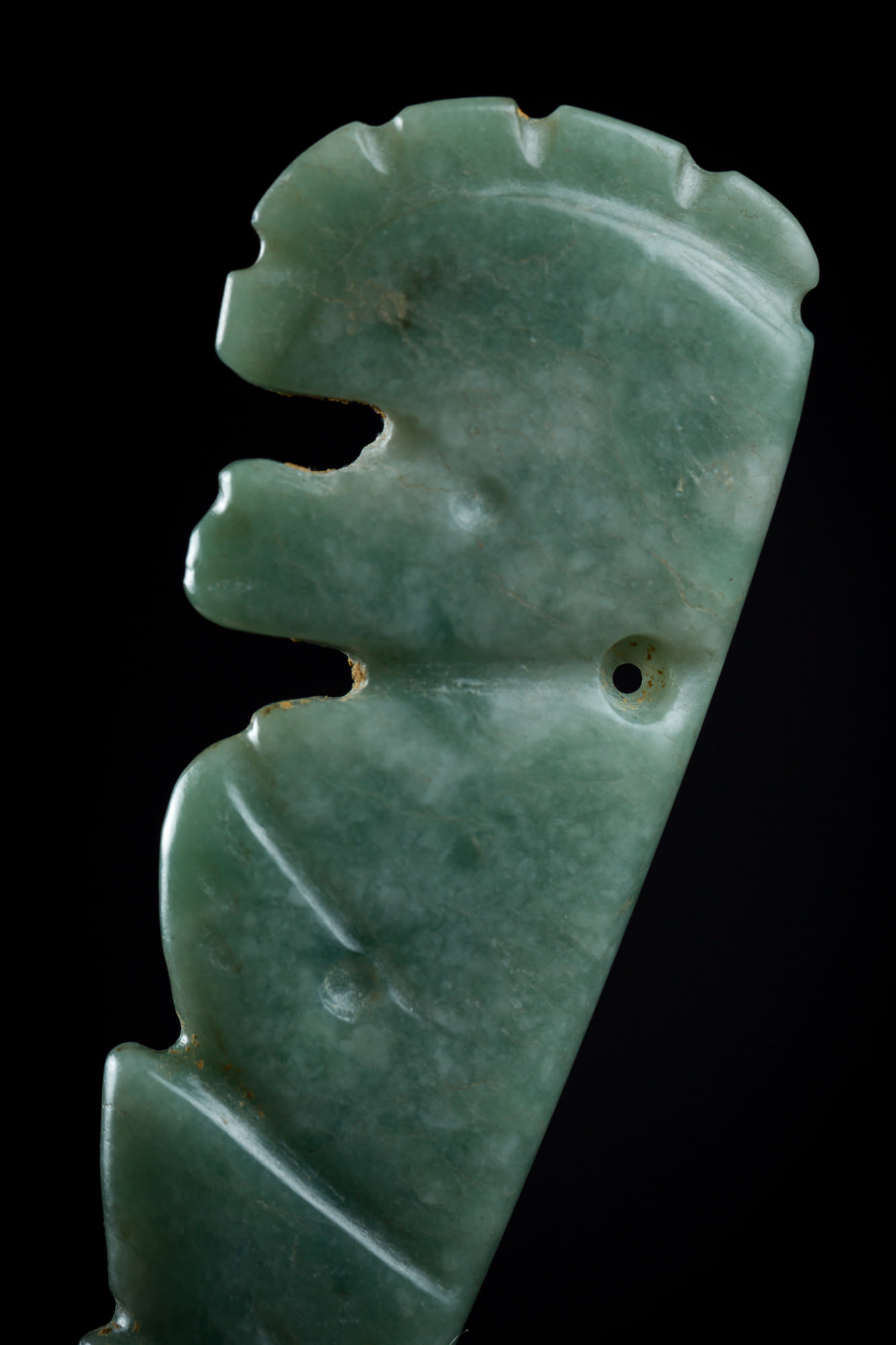 Photo of COSTA RICA TALISMANIC MONKEY IN JADE