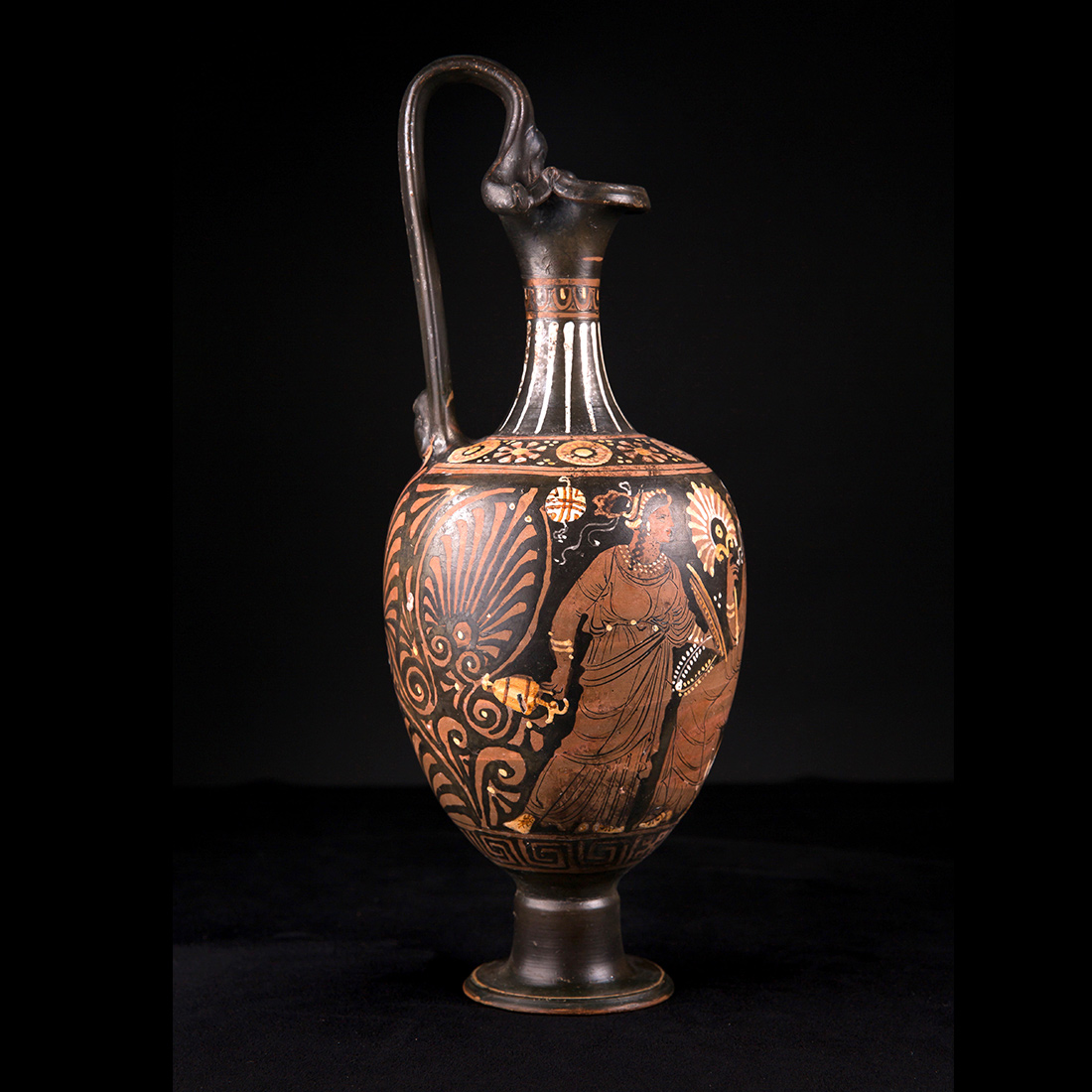 Photo of VOTIVE EWER DEPICTING APHRODITE