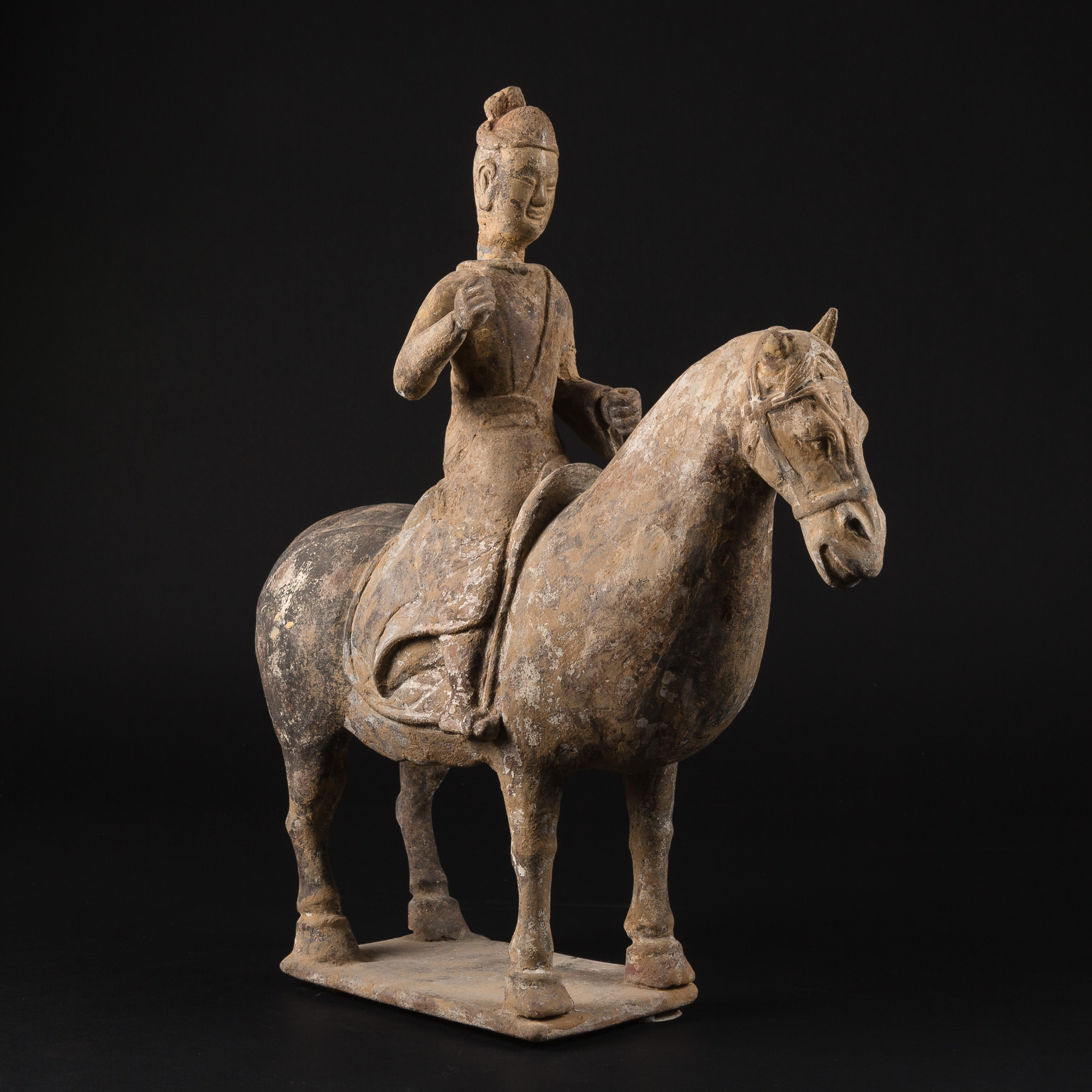 Photo ofCAVALRYMAN ON HORSE CHINA NORTHERN WEI DYNASTY