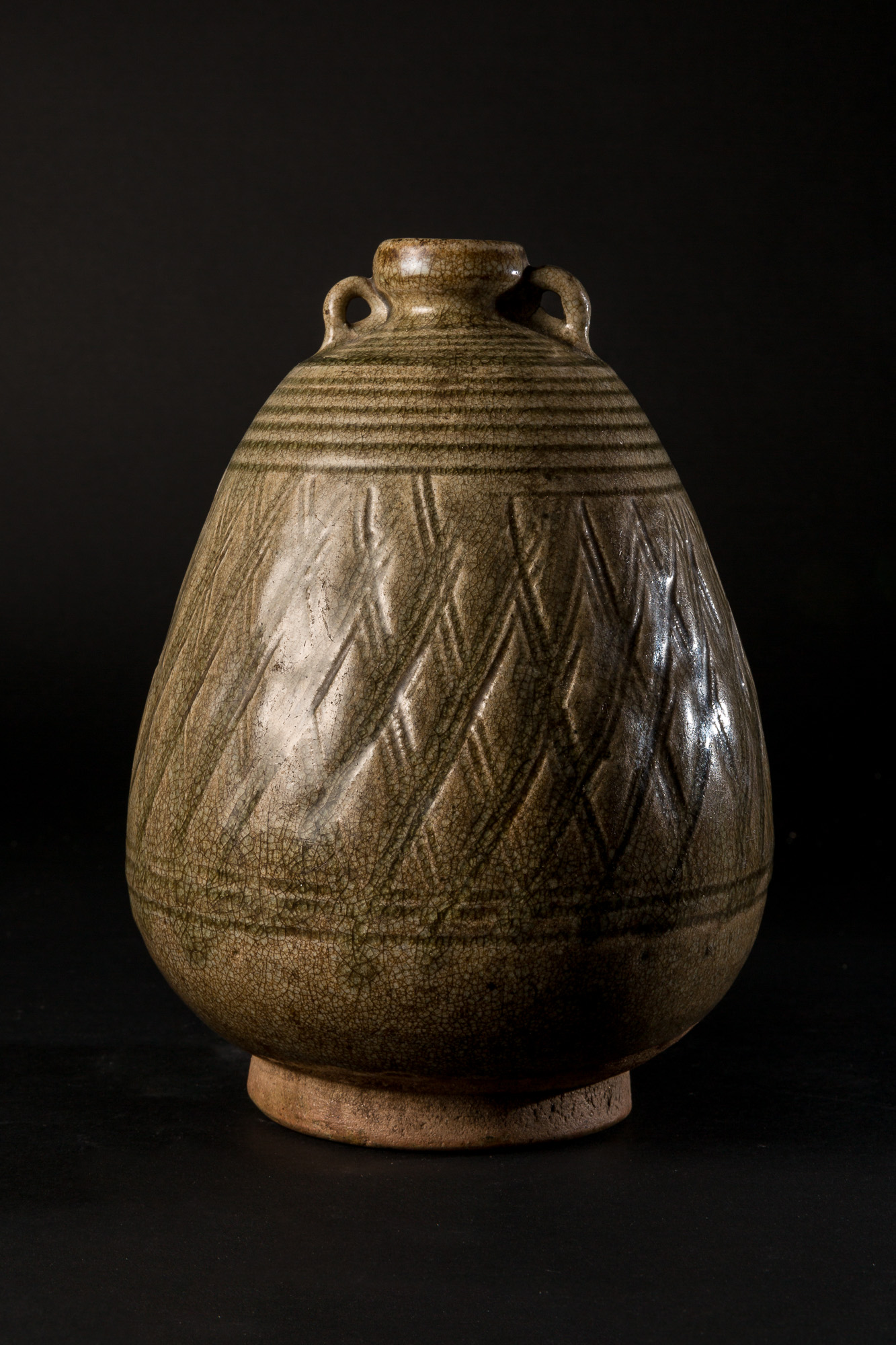 Photo of VASE EN CELADON DE SAWANKALOK