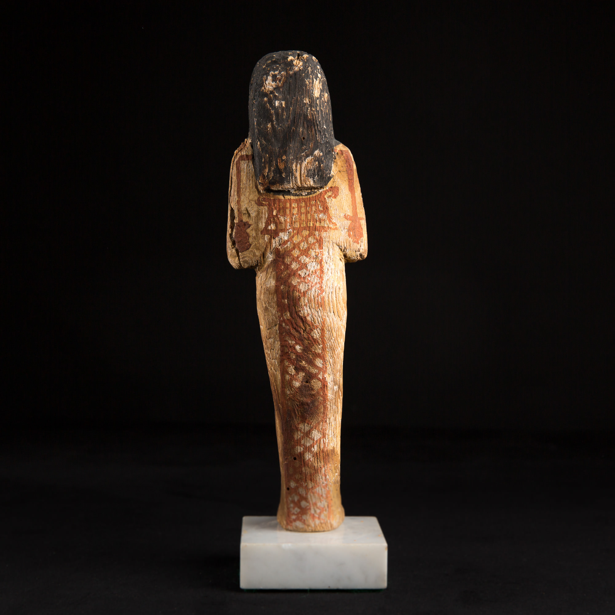 Photo of WOODEN SHABTI
